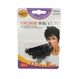 Qfitt Anchor Wig Clips #1112Large - Beauty Bar & Supply