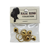 Minnie Hair Ring Collection with Heart Charm