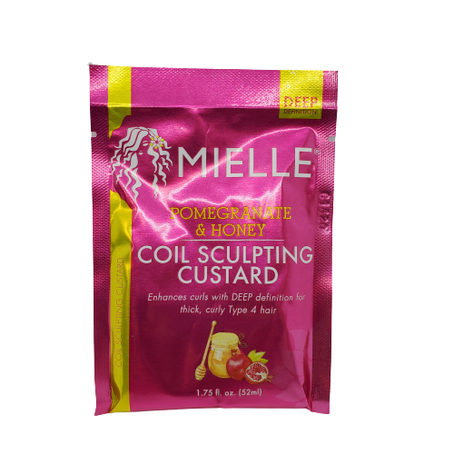 Mielle Pomegranate & Honey Coil Scultping Custard Sample Pack