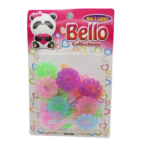 Bello Collection Pastel Assorted Sunflower Barrette #27507