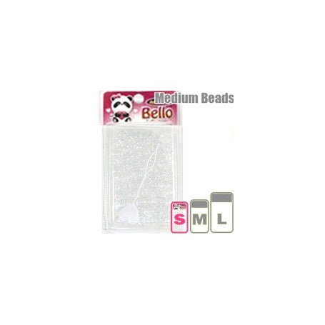 Bello Collection Beads Clear #38700 - Beauty Bar & Supply