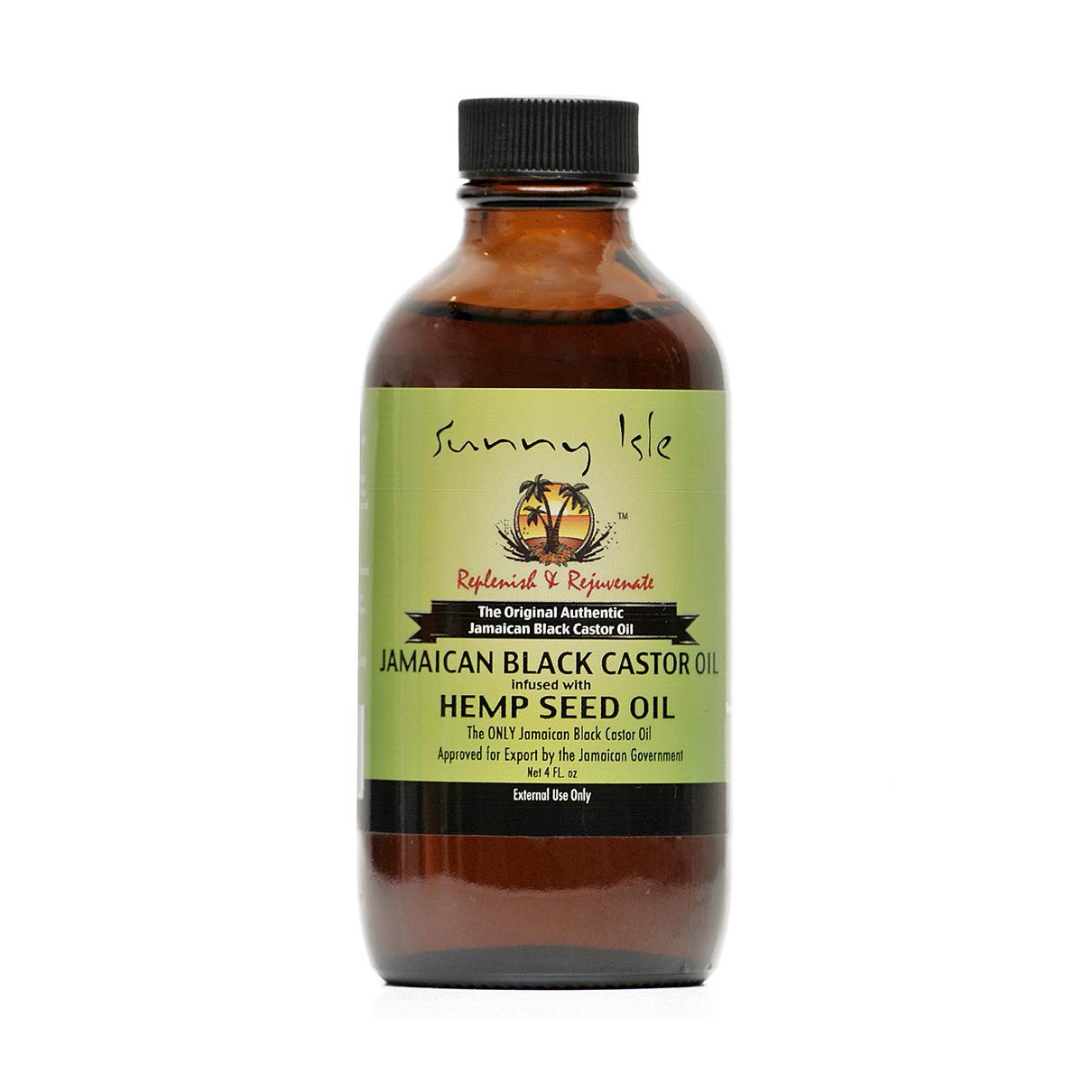 Sunny Isle Jamaican Black Castor Oil Infused with Hemp Seed Oil - Beauty Bar & Supply