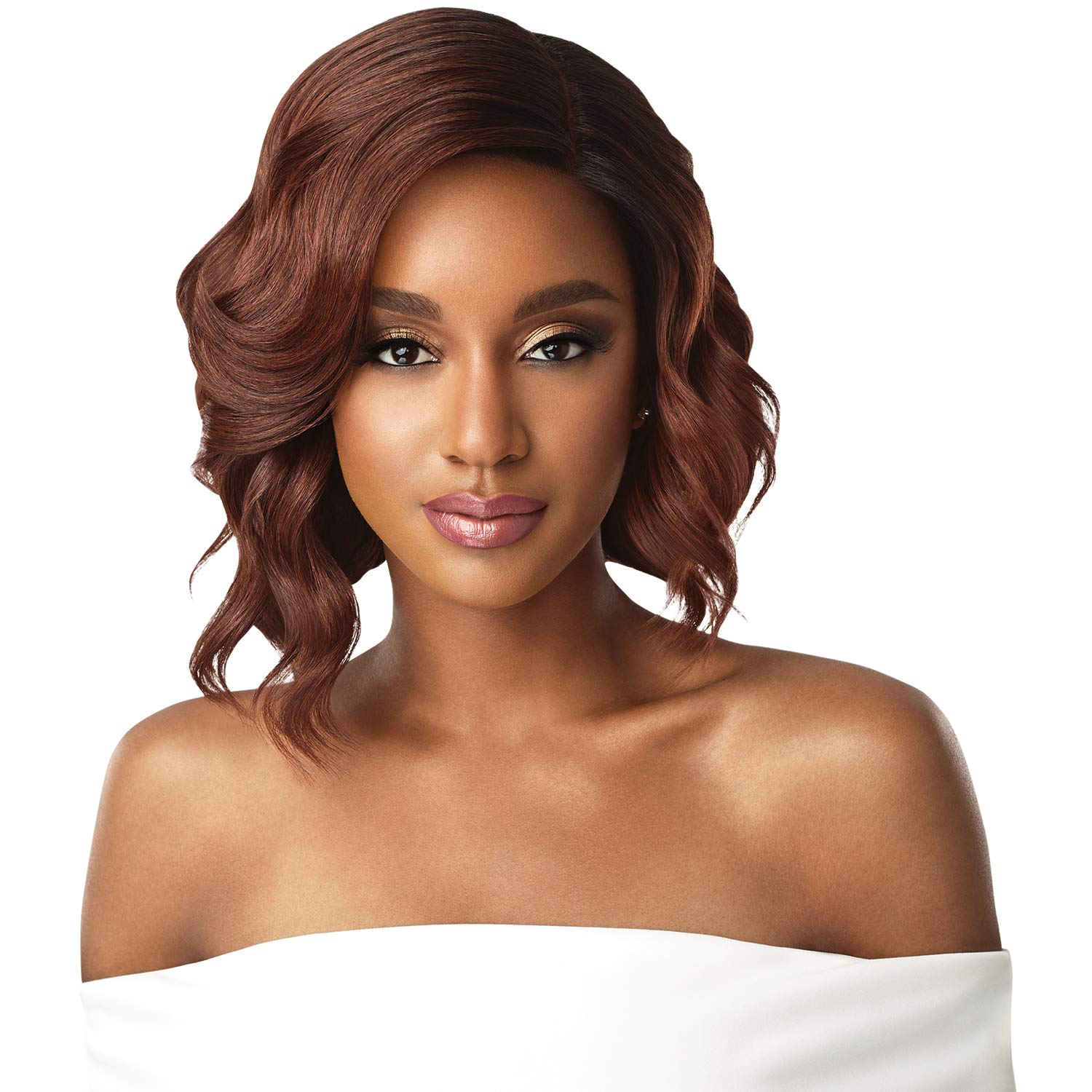 "Outre  Swiss Lace Front 5"" Deep Parting Wig-Tinashe - Beauty Bar & Supply"