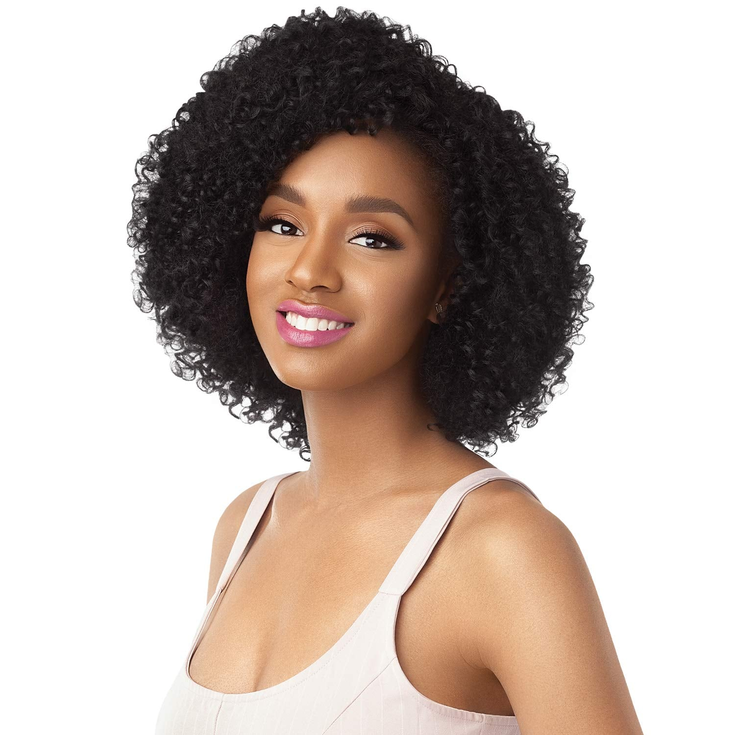 Outre Synthetic Big Beautiful Hair Half Wig-3C Tigress Tendrils - Beauty Bar & Supply