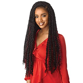 "Outre Xpression Natural Kinky Twist Perfect Texture 24"" - Beauty Bar & Supply"