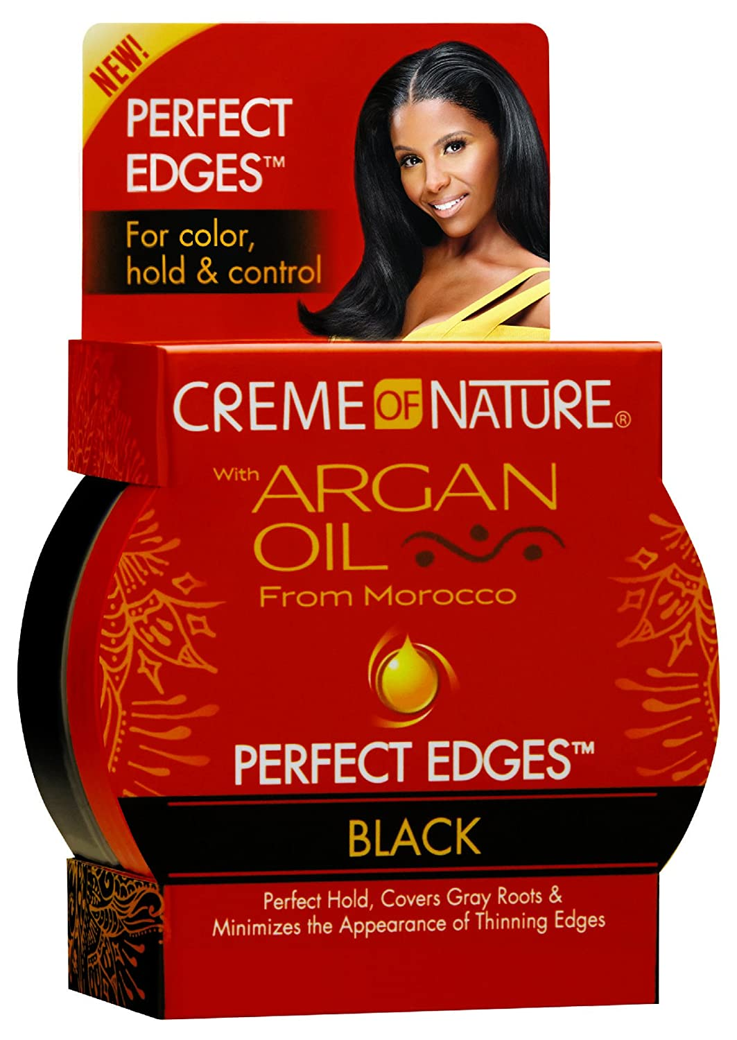 Creme of Nature with Argan Oil-Perfect Edges (Black) - Beauty Bar & Supply