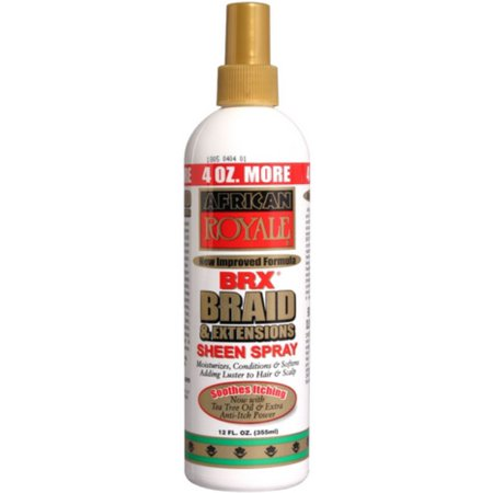 African Royale BRX Braid & Extensions Sheen Spray - Beauty Bar & Supply