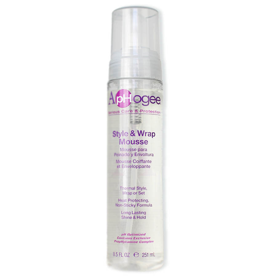 ApHogee Style & Wrap Mousse - Beauty Bar & Supply