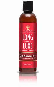 As I Am Long and Luxe GroYogurt Leave-In Conditioner - Beauty Bar & Supply