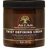 As I Am Twist Defining Cream - Beauty Bar & Supply
