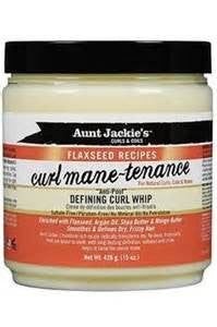 Aunt Jackie's Curls & Coils Flaxseed Recipes Curl Mane-Tenance Defining Curl Whip - Beauty Bar & Supply