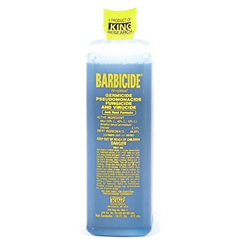 Barbicide Disinfectant 16oz - Beauty Bar & Supply