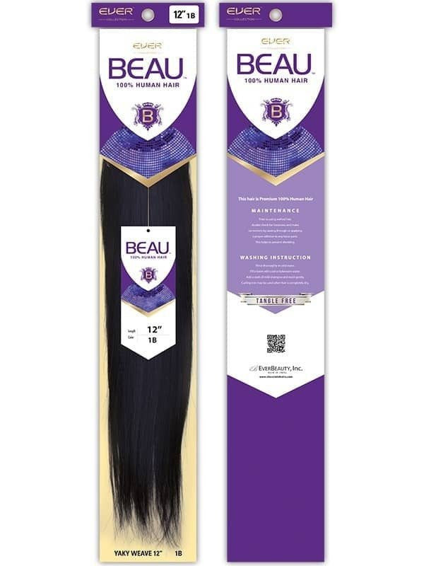 "EVER COLLECTION BEAU 100% HUMAN WEAVING HAIR 12"" - Beauty Bar & Supply"