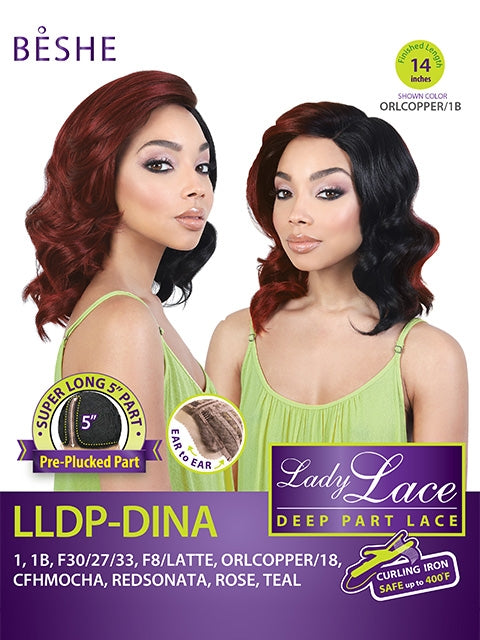 Beshe Lady Deep Part Lace Wig-Dina - Beauty Bar & Supply