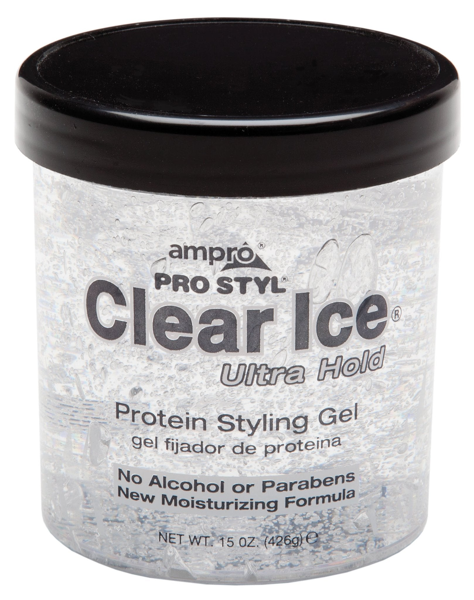 AMPRO CLEAR ICE ULTRA HOLD - Beauty Bar & Supply