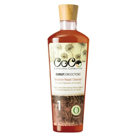 CoCo Conscious Collective Curly Concoctions Moisture Repair Cleanser - Beauty Bar & Supply