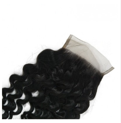Lx Hair Collection Brazilian Deep Wave Human Hair Grade 8 Deep Wave Lace Closure