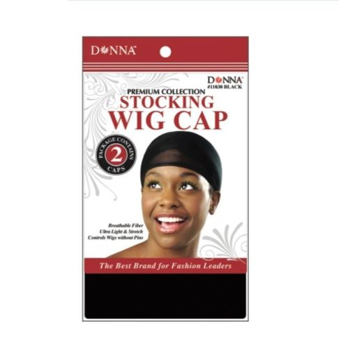 Donna Stocking Cap Black #11030 - Beauty Bar & Supply
