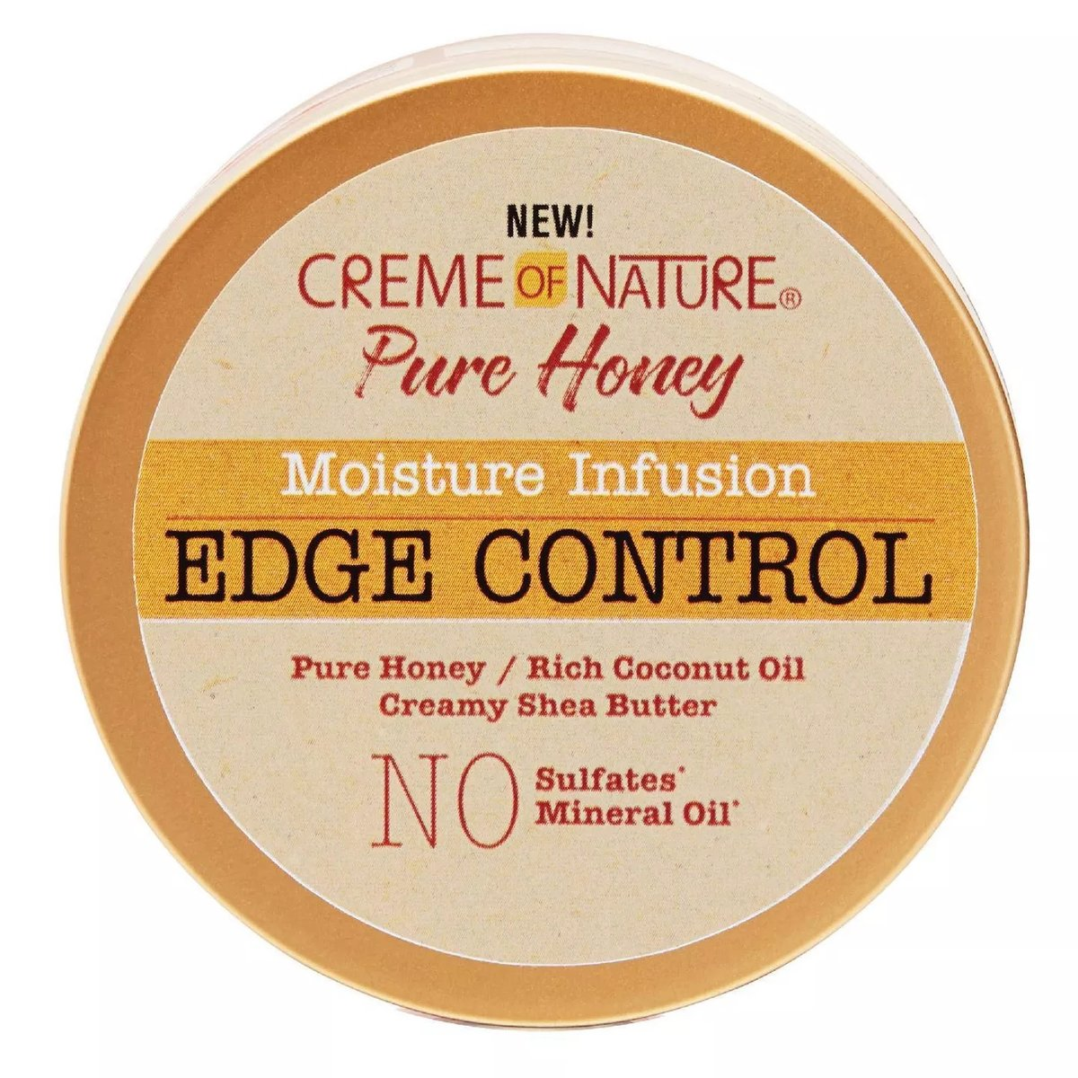 Creme of Nature Pure Honey Moisture Infusion Edge Control - 2.25 fl oz - Beauty Bar & Supply
