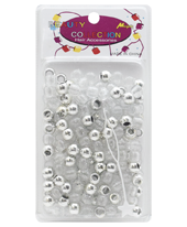 Magic Collection Glitter Beads Silver