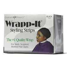 Graham Beauty Wrapp It Styling Strips Black - Beauty Bar & Supply