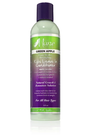 The Mane Choice Green Apple Fruit Medley Detangling Kids Leave-In Conditioner - Beauty Bar & Supply