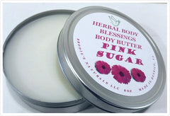 Herbal Body Blessing's-Pink Sugar Body Butter - Beauty Bar & Supply