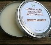 Herbal Body Blessing's-Honey Almond Body Butter