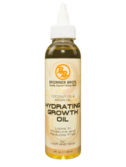 Bronner Brothers Coconut Oil & Argan Hydrating Growth Oil - Beauty Bar & Supply