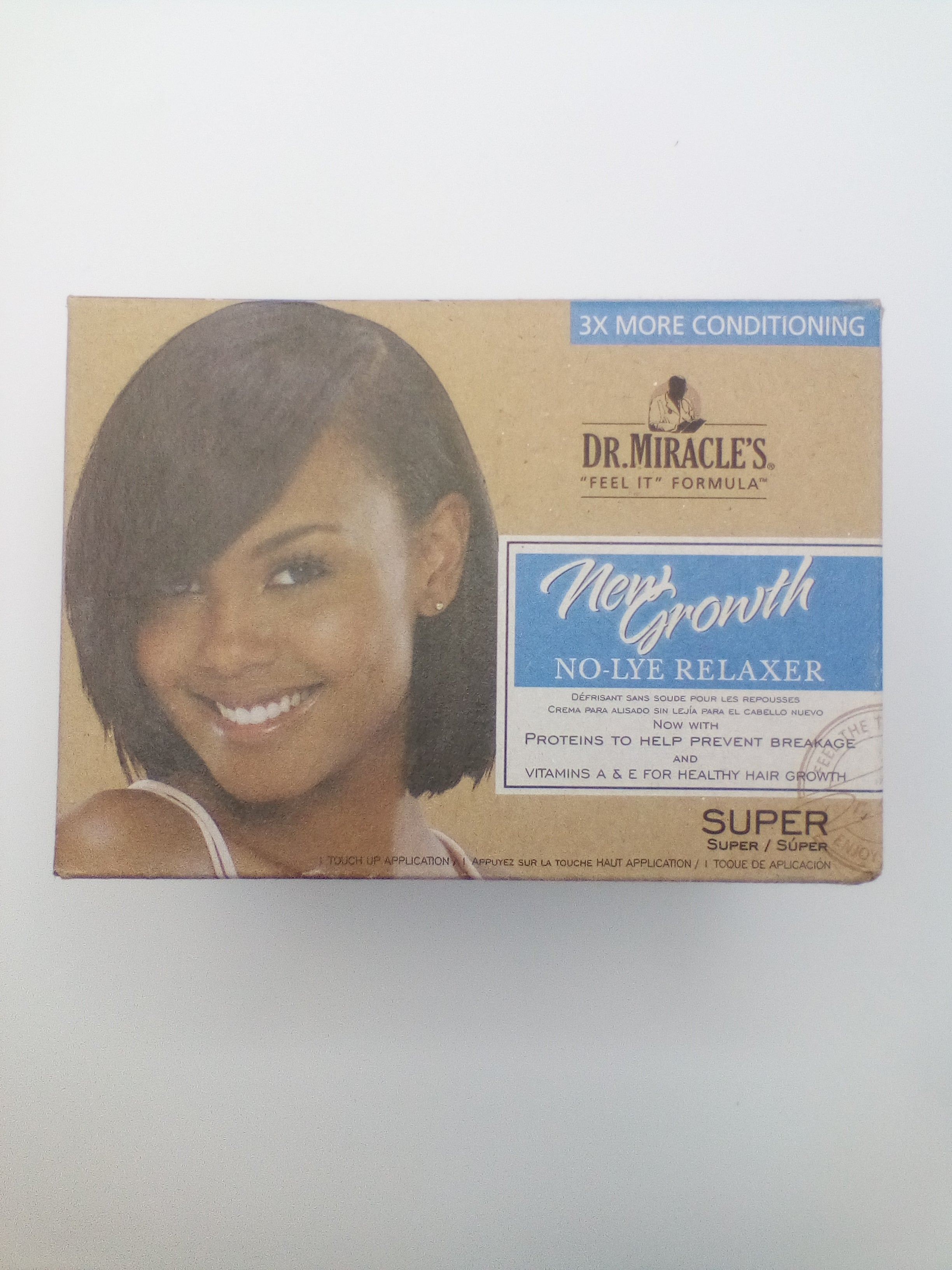 Dr. Miracle's New Growth No Lye Super - Beauty Bar & Supply