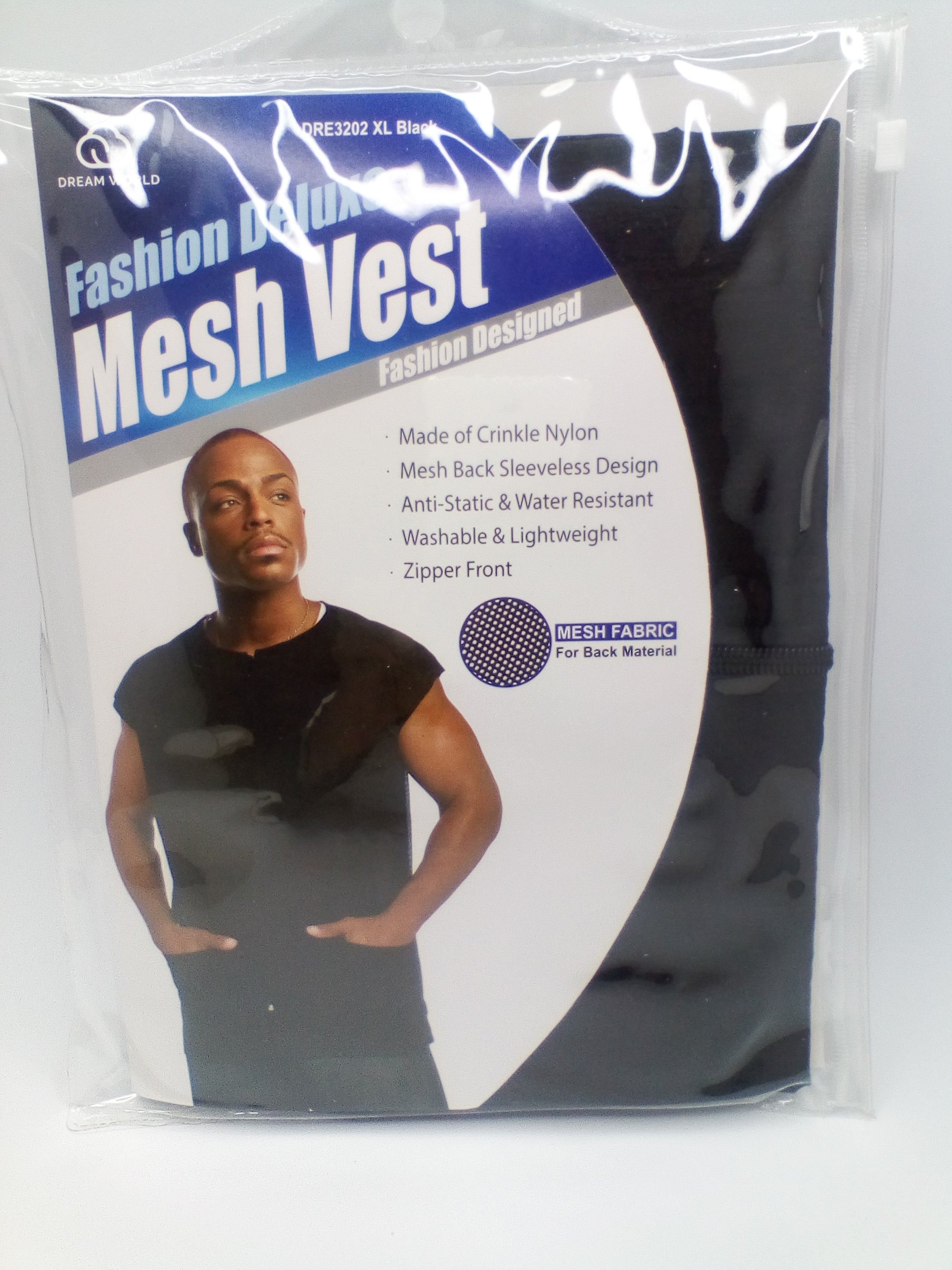 DREAM DELUXE MESH VEST DRE3202XL - Beauty Bar & Supply