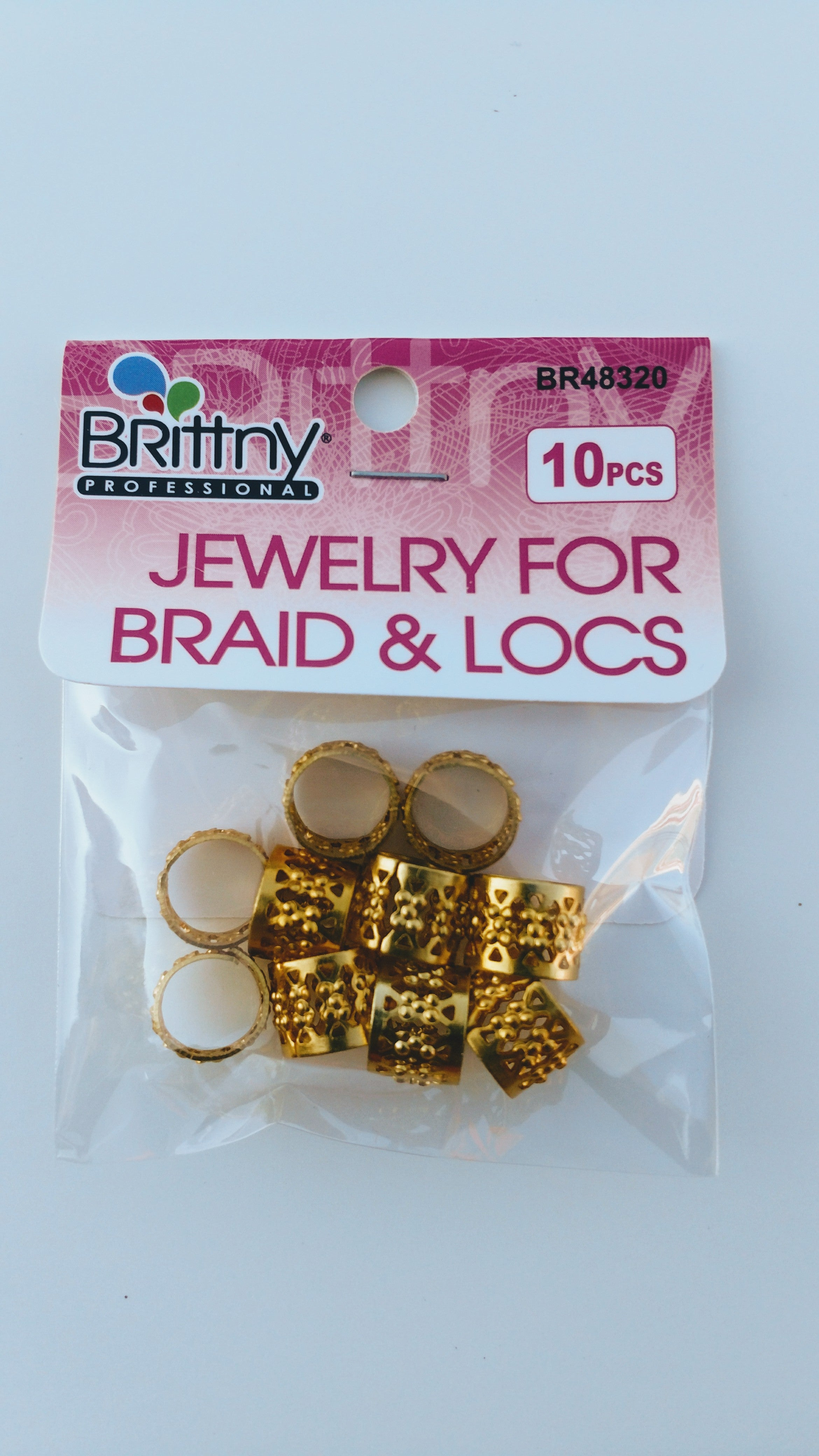 Brittny Jewelry for Braid & Locs - Beauty Bar & Supply