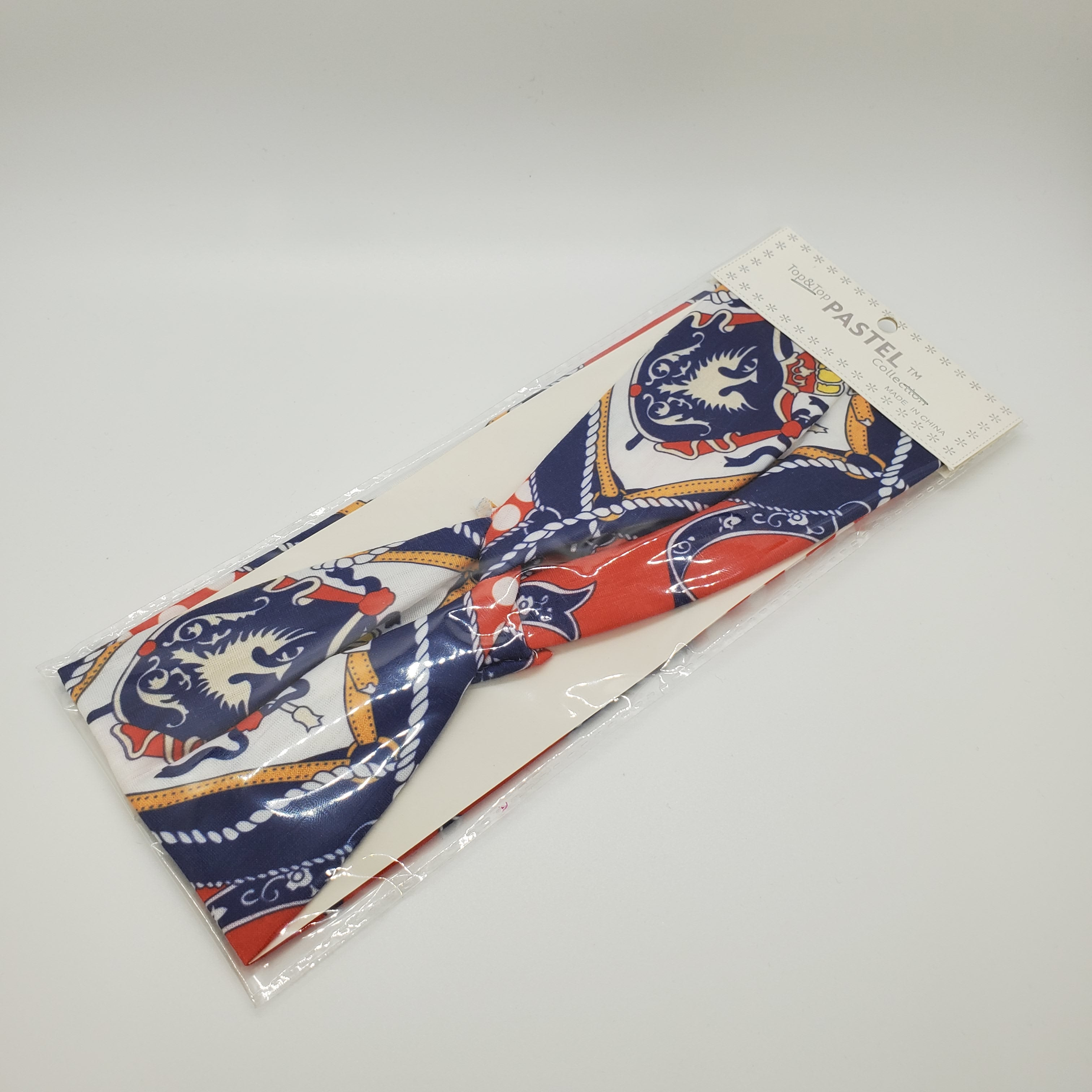 Pastel Collection  Nautical Theme Fabric Headband - Beauty Bar & Supply