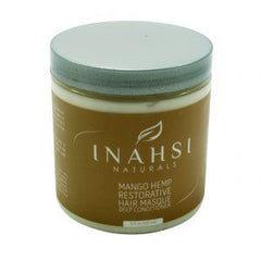 INAHSI NATURALS MANGO HEMP RESTORATIVE HAIR MASQUE DEEP CONTIONER