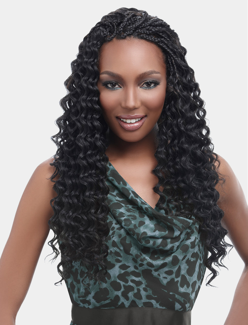 HARLEM125 KIMA SYNTHETIC CROCHET BRAIDING HAIR RIPPLE DEEP - Beauty Bar & Supply
