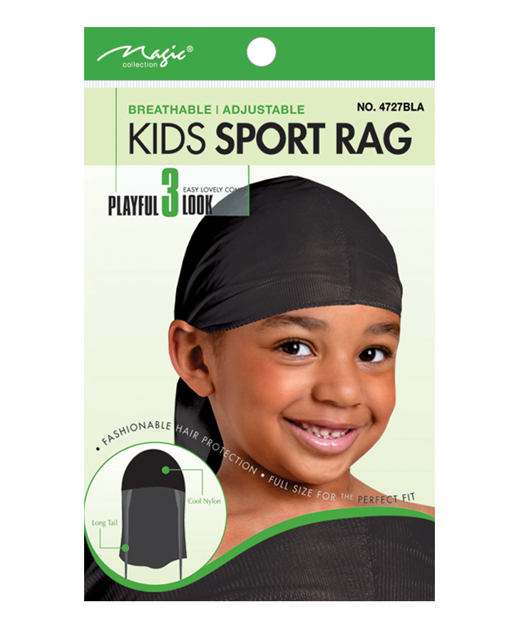 Magic Collection Kid Sport Rag 4727BLA - Beauty Bar & Supply