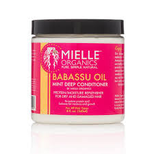 Mielle Organics Babassu Oil & Mint Deep Conditioner - Beauty Bar & Supply