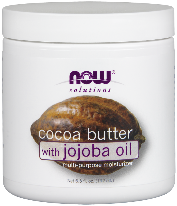 NOW Cocoa Butter with Jojoba Oil - Beauty Bar & Supply