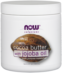 NOW Coco Butter with Jojoba Oil