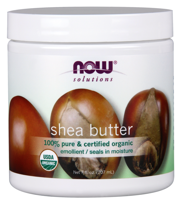 NOW Shea Butter Pure & Certified Organic - Beauty Bar & Supply
