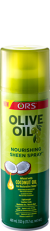 ORS Olive Oil Nourishing Sheen Spray infused with Coconut Oil - Beauty Bar & Supply