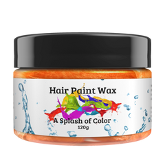 Hair Paint Wax-Orange