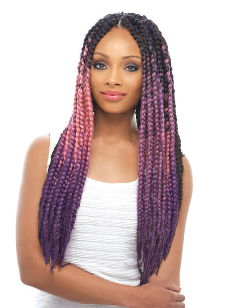 Janet Collection Jumbo Braid Pre-Dyed Pastel
