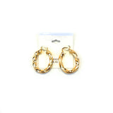 Spanish Brass Hoop Gold SBHG5 - Beauty Bar & Supply