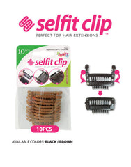Janet Collection Selfit Clip 10pc - Beauty Bar & Supply