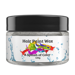 Hair Paint Wax-Silver