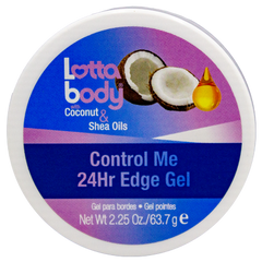 Lottabody with Coconut & Shea Oils Control Me 24Hr Edge Gel - Beauty Bar & Supply