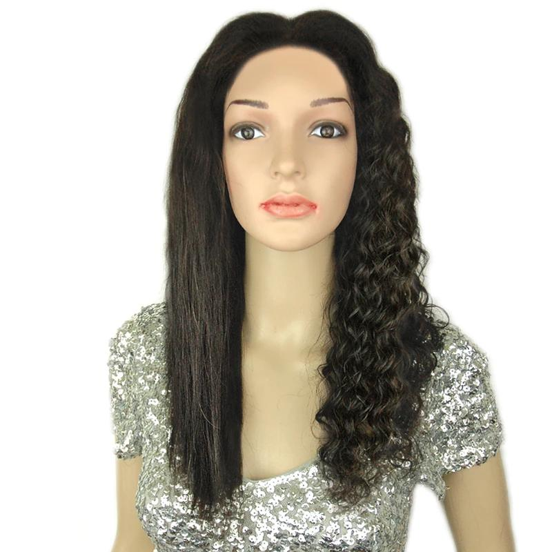 WannaBe Wet & Wavy Remy Brazilian Human Hair Premium 360 Lace Front Wig-Classy - Beauty Bar & Supply