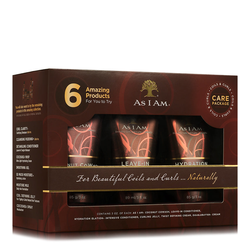 As I Am Coils & Curls Care Package - Beauty Bar & Supply