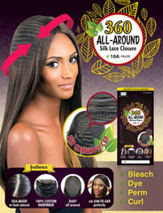 Urban Beauty's Bare Beauty Brazilian 360 Closure (Pre-Cornrowed Cap) - Beauty Bar & Supply